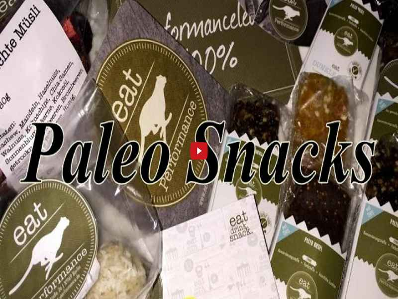 [Video] Schmale Schulter Fitness - Paleo Snacks