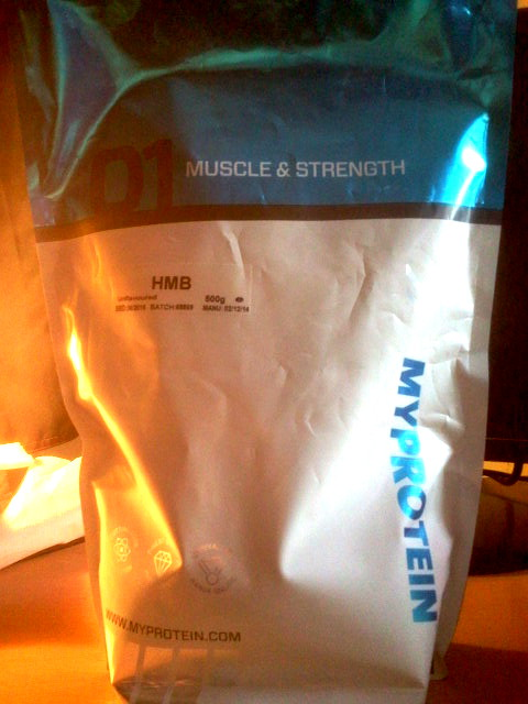 Review: HMB (Beta-Hydroxy Beta-Methylbutyrat) von Myprotein im Test