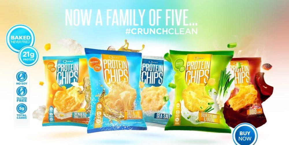Die QUEST Nutrition Chips sind da
