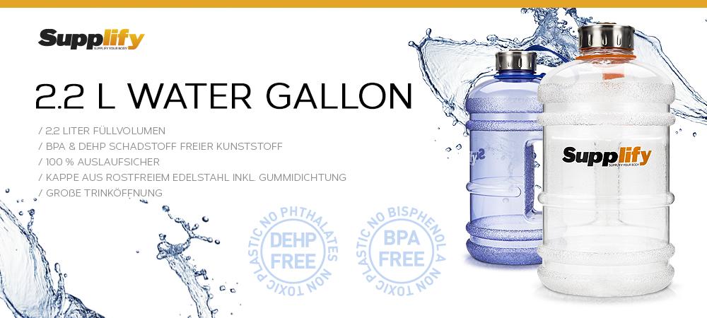50% Rabatt auf die 2,2 Liter Flasche von Supplify. Jetzt für nur 7,90 € erhältlich!