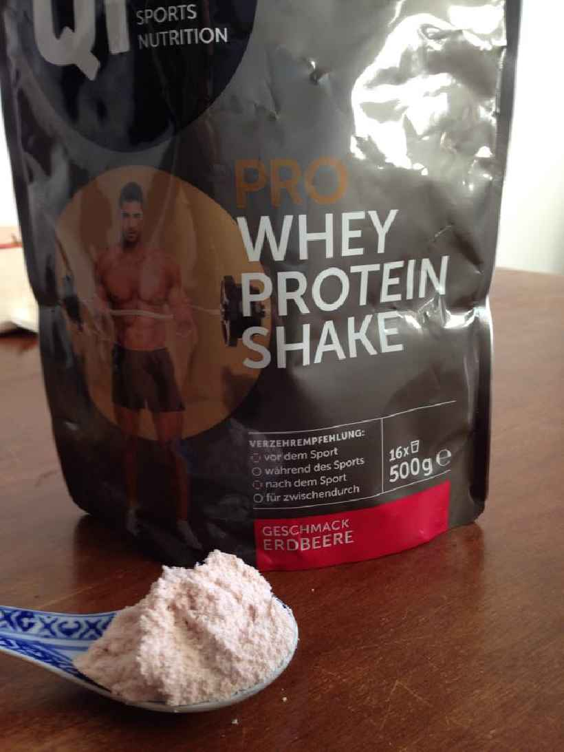Review: Pro Whey Protein Shake von Qi² Sports Nutrition