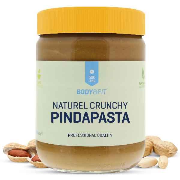 """Ein Naturprodukt: Die Erdnussbutter (""""Pindapasta"""") von Body & Fit enthält kein hinzugesetztes Salz oder Zucker."""