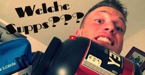 [Video] Schmale Schulter Fitness - Supps in der Diät?