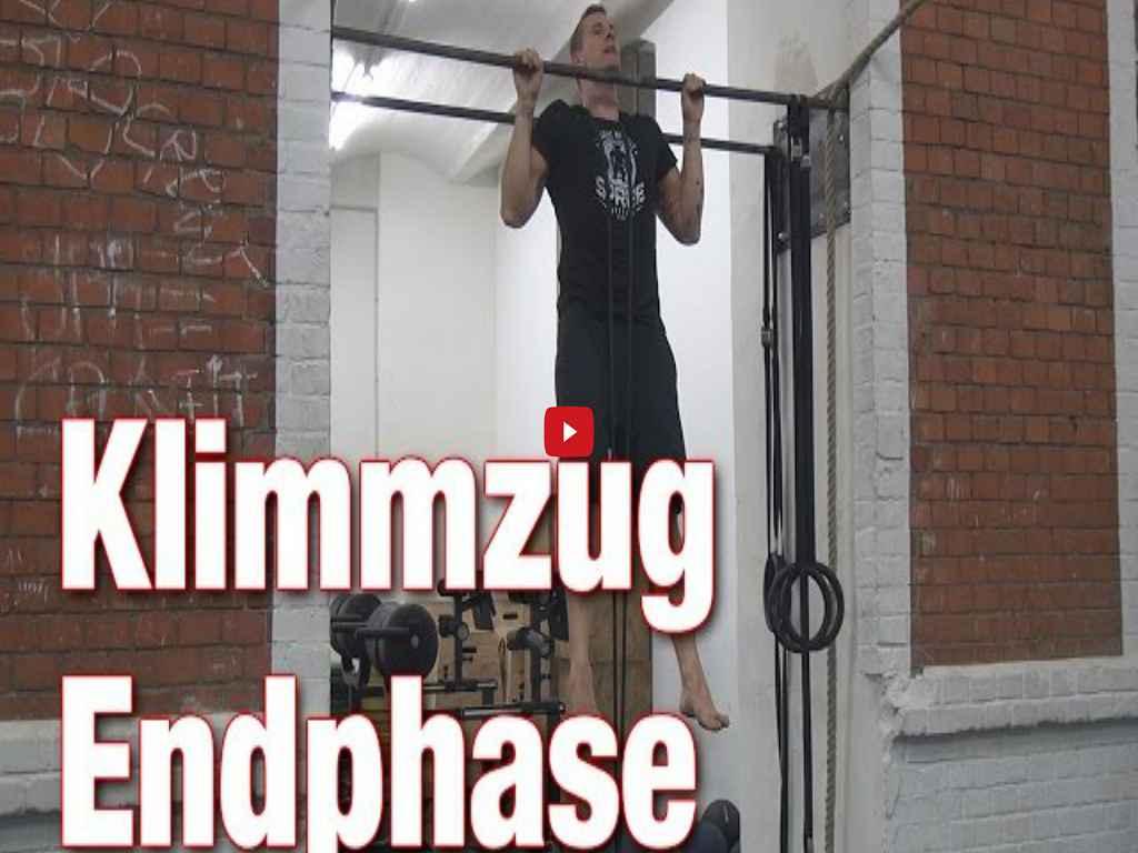 [Video] Johannes Kwella - Klimmzüge: Endphase (Pull-Up Series #6)