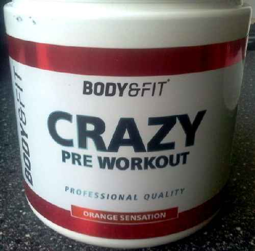 Crazy Pre Workout Booster
