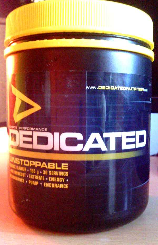 Review: Unstoppable von Dedicated Nutrition im Test