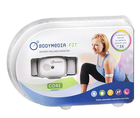 Review: Bodymedia Fit Core Armband im Test