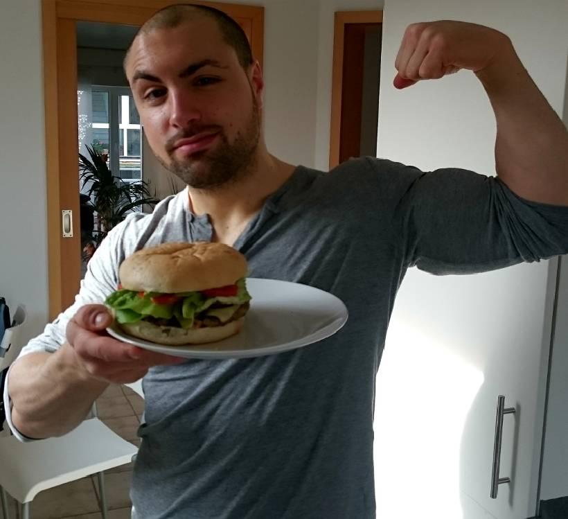 Carmine-Doppel-Bizeps-Burger