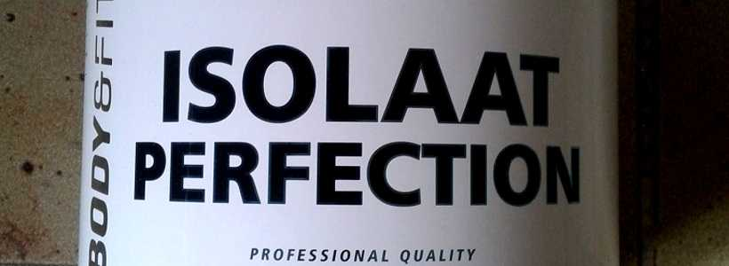 """Review: Isolaat Perfection """"Haselnuss-Nutella"""" von Body&Fit"""