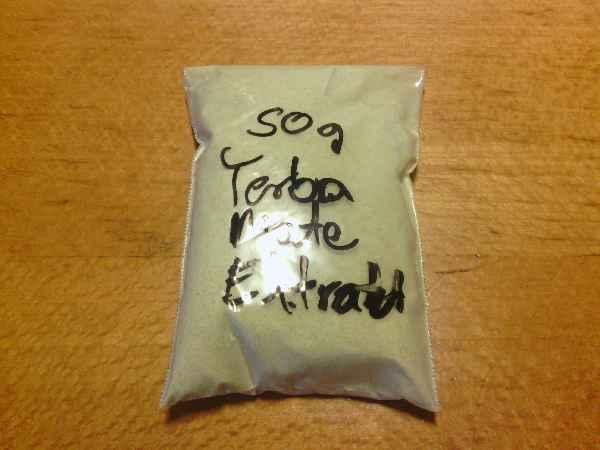 Yerba Mate Extrakt (8%) aus dem Hause AesirSports: 50g zu 10 € und man spart sich das literweise Tee-saufen. ;)