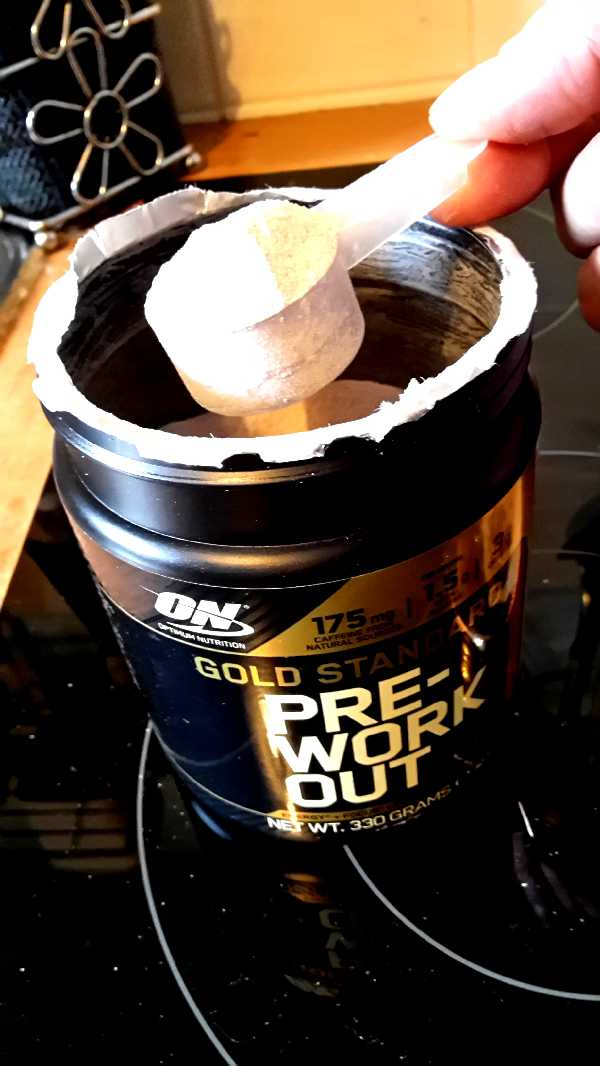 Review: Gold Standard Pre-Workout von Optimum Nutrition im Test