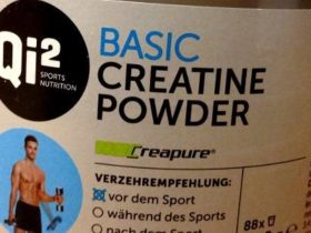Review: Basic Creatine Powder von Qi² Sports Nutrition im Test