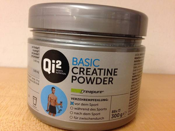 Review: Basic Creatine Pulver von Qi² Sports Nutrition im Test
