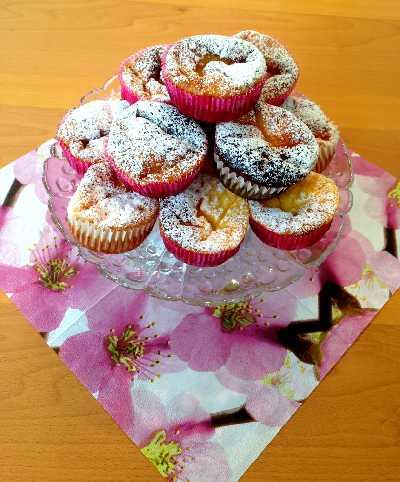 Erdbeer-Käsekuchen-Muffins