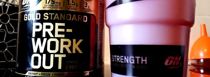 "Review: Gold Standard Pre-Workout ""Fruit Punch"" von Optimum Nutrition"