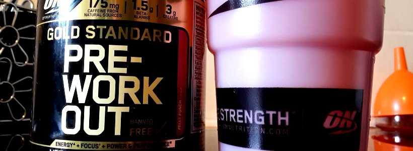 "Review: Gold Standard Pre-Workout ""Fruit Punch"" von Optimum Nutrition"