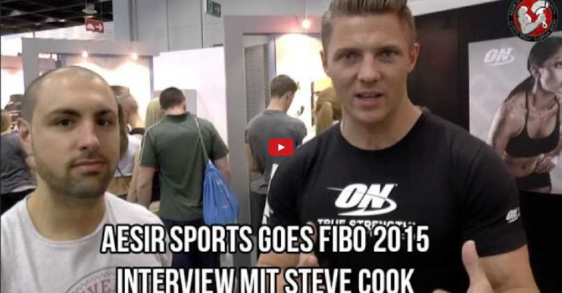 Interview mit Steve Cook: Aesir Sports goes FIBO 2015