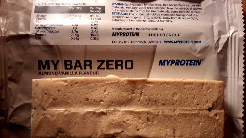 Produktreview: My Bar ZERO von Myprotein - Die Questbar-Alternative?