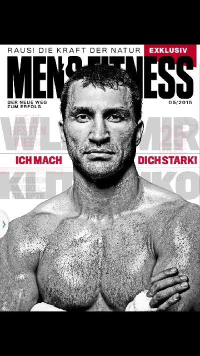 Die akutelle Ausgabe der Mens Fitness als App: Kostenlos erhältlich.