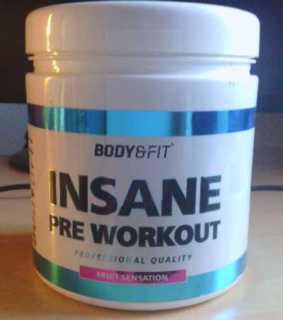 Insane Pre Workout Dose