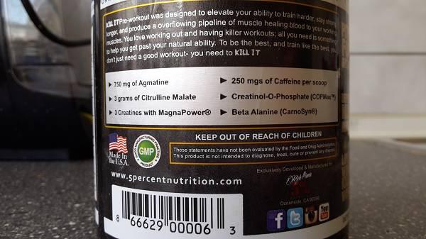 Review: Kill It von 5% Nutrition im Test