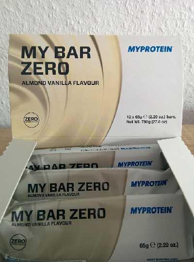Review: MyBar ZERO Proteinriegel von Myprotein im Test