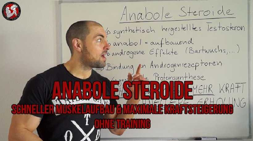 Anabole Steroide: Schneller Muskelaufbau und maximale Kraftsteigerung ohne Training?