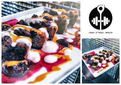 Rezept: High Protein Kichererbsen-Kuchen