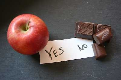 Der Present Bias in der Ernährung: Apfel oder Schokolade?