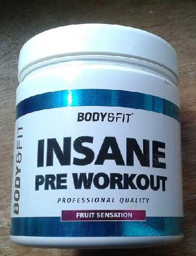Insane! Pre-Workout von Bodyenfit.nl: So sieht die Dose aus