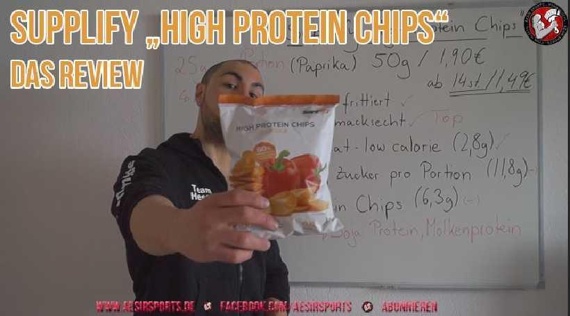 [Video] Review: High Protein Chips von Supplify im Test - Ein würdiger Snack?