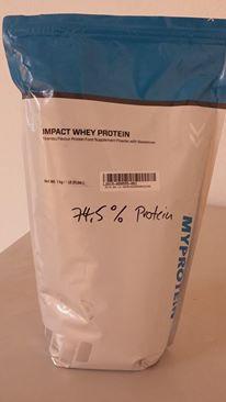 Impact Whey Protein Test