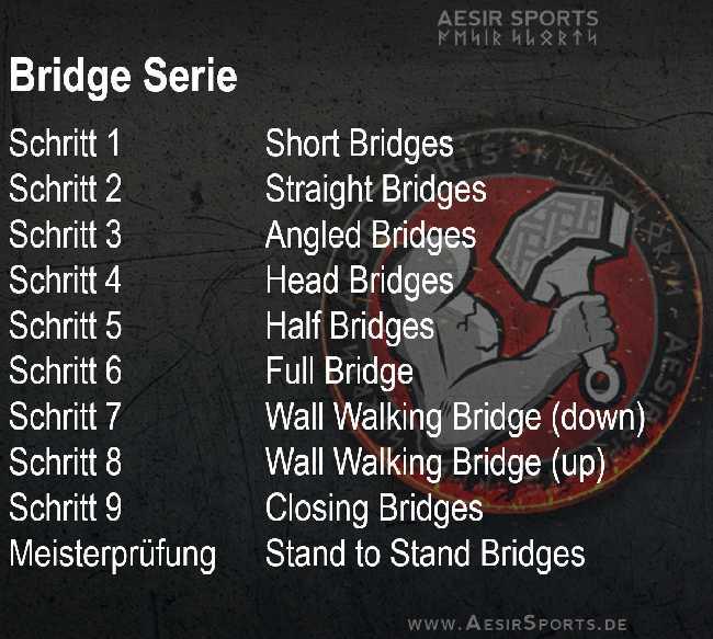 Calisthenics - Bridge Serie