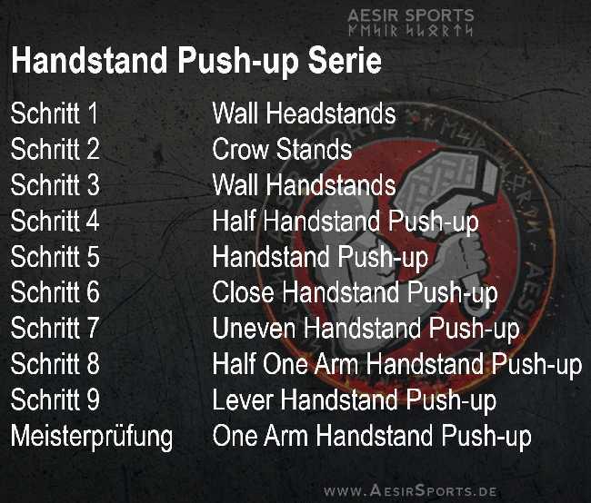 Calisthenics - Handstand Push-up Serie