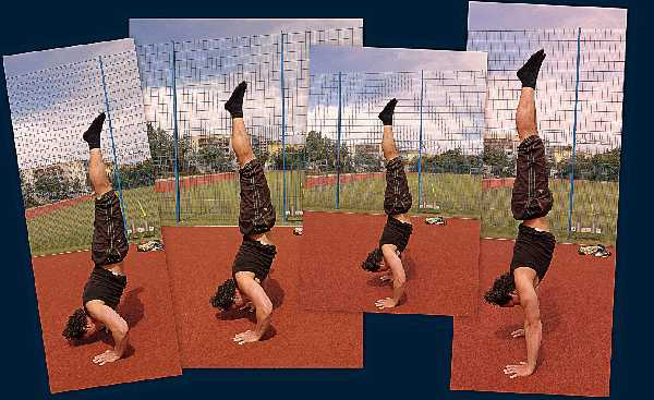 BWE - Handstand Pushh-up