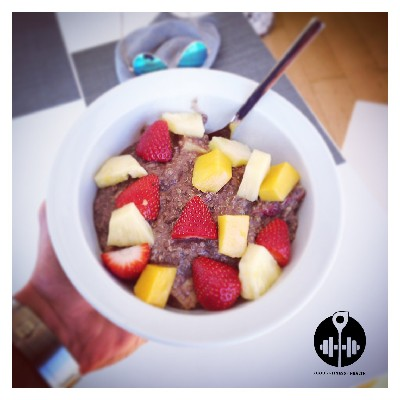Quinoa Porridge mit Obst