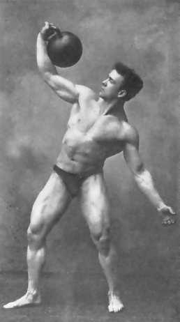 Oldschool Kraftsport Lionel Strongfort