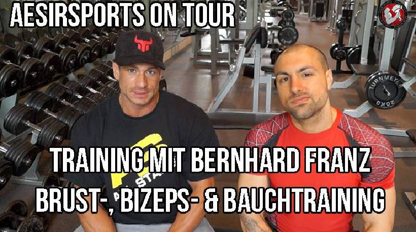 Aesir Sports on Tour #1: Training mit Bernhard Franz - Teil 2