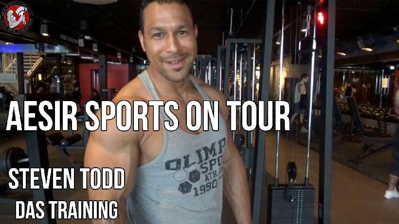 Aesir Sports on Tour #2-1: Training mit Steven Todd im High5 (Fulda)