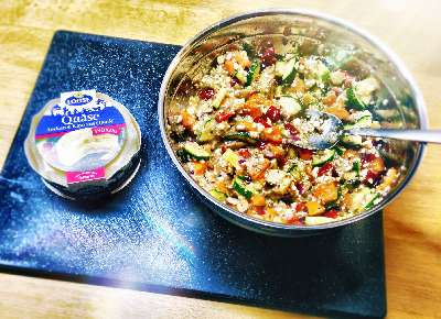 Rezept: Herzhafte Quäse-Gemüsemuffin