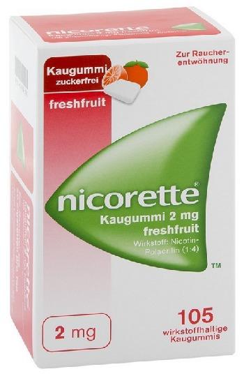 -Nikotin Kaugummi