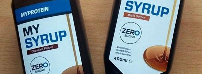 Review: MySyrup von Myprotein im Test