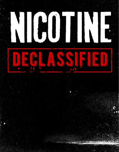 Nicotine Declassified Frontcover