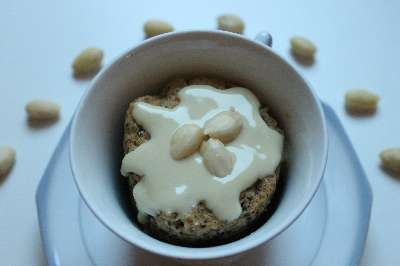 Rezept: Bananen-Nuss-Tassenkuchen aus der Mikrowelle
