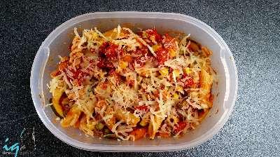 Rezept: IQ's Pasta-Auflauf To-Go