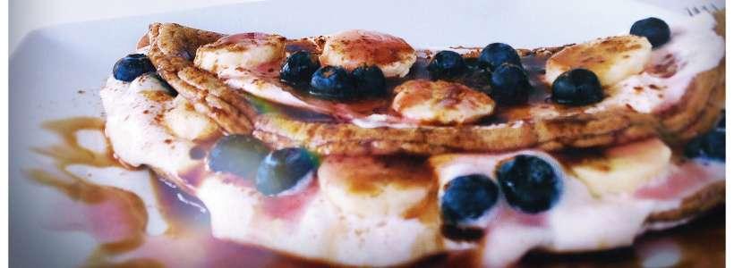 Schnelle 10 Minuten-Pancakes
