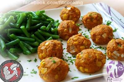 Rezept: Süßkartoffel-Bällchen | Proteinreiche Beilage