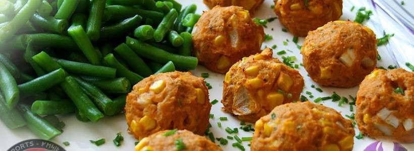 Süßkartoffel-Bällchen