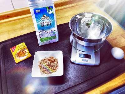 Rezept: Kalorienarmer High Protein Tassenkuchen