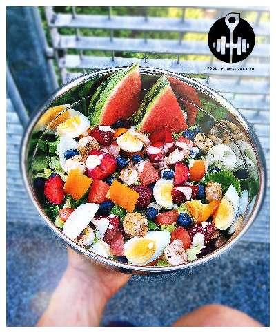 Rezept: Erfrischender Sommersalat
